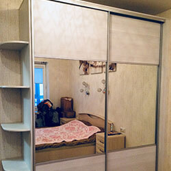 Встроенный шкаф-купе № 0749