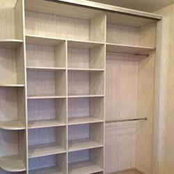 Встроенный шкаф-купе № 0750