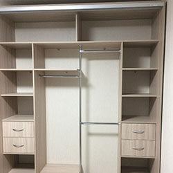 Встроенный шкаф-купе № 0754