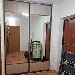 Встроенный шкаф-купе № 0755