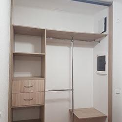 Встроенный шкаф-купе № 0756