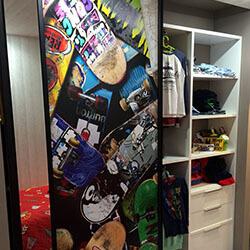 Встроенный шкаф-купе № 0084