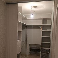 Встроенный шкаф-купе № 0762
