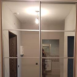 Встроенный шкаф-купе № 0763