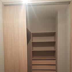 Встроенный шкаф-купе № 0764