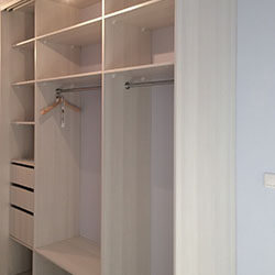 Встроенный шкаф-купе № 0766