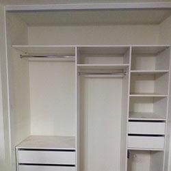 Встроенный шкаф-купе № 0770