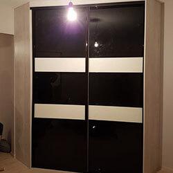 Встроенный шкаф-купе № 0771