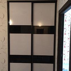 Встроенный шкаф-купе № 0773