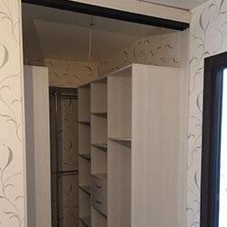 Встроенный шкаф-купе № 0774