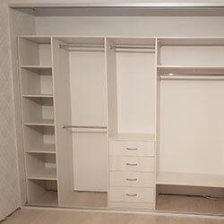 Встроенный шкаф-купе № 0776