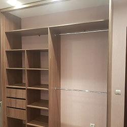 Встроенный шкаф-купе № 0782