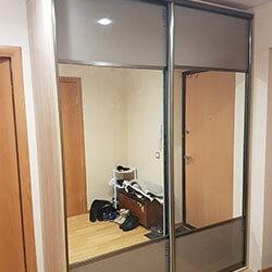 Встроенный шкаф-купе № 0783