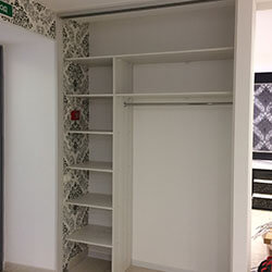 Встроенный шкаф-купе № 0786