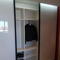 Встроенный шкаф-купе № 0087