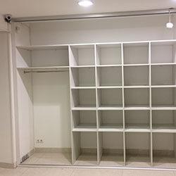 Встроенный шкаф-купе № 0788