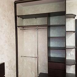 Встроенный шкаф-купе № 0792