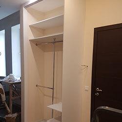 Встроенный шкаф-купе № 0796