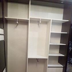Встроенный шкаф-купе № 0744