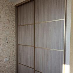 Встроенный шкаф-купе № 0801