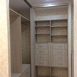 Встроенный шкаф-купе № 0803