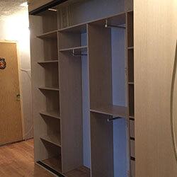 Встроенный шкаф-купе № 0809