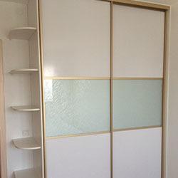 Встроенный шкаф-купе № 0810