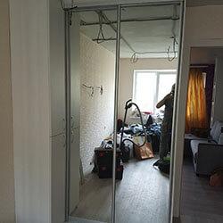Встроенный шкаф-купе № 0814