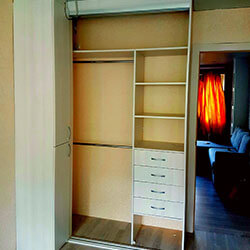 Встроенный шкаф-купе № 0815