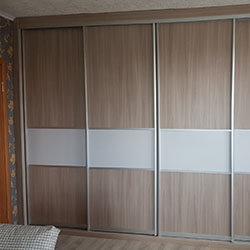 Встроенный шкаф-купе № 0820