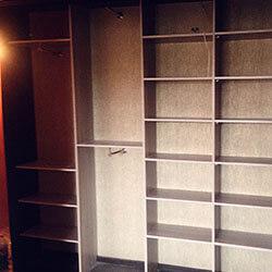Встроенный шкаф-купе № 0829