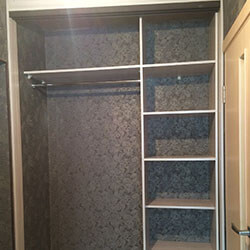 Встроенный шкаф-купе № 0832