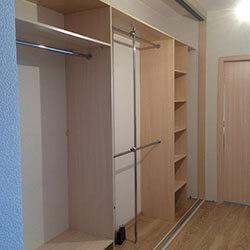 Встроенный шкаф-купе № 0838