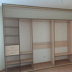 Встроенный шкаф-купе № 0858