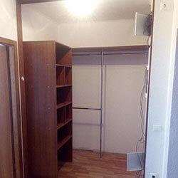 Встроенный шкаф-купе № 0860