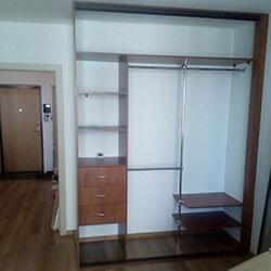 Встроенный шкаф-купе № 0862