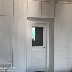 Встроенный шкаф-купе № 0863