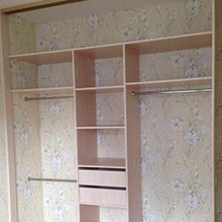 Встроенный шкаф-купе № 0876