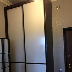 Встроенный шкаф-купе № 0887