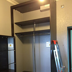 Встроенный шкаф-купе № 0888