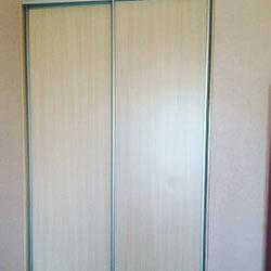 Встроенный шкаф-купе № 0897