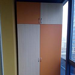 Встроенный шкаф-купе № 0899