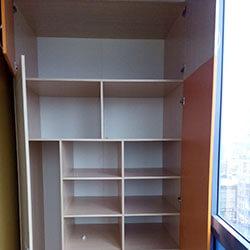 Встроенный шкаф-купе № 0900
