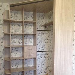 Встроенный шкаф-купе № 0902