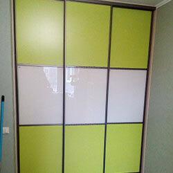 Встроенный шкаф-купе № 0903
