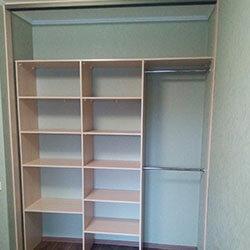Встроенный шкаф-купе № 0904