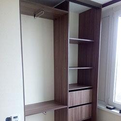 Встроенный шкаф-купе № 0906