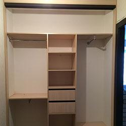 Встроенный шкаф-купе № 0908