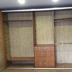 Встроенный шкаф-купе № 0910