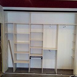 Встроенный шкаф-купе № 0914